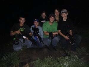Boys group Test. Hog