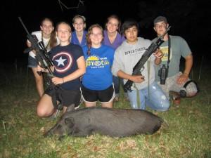 Youth group Test. Hog