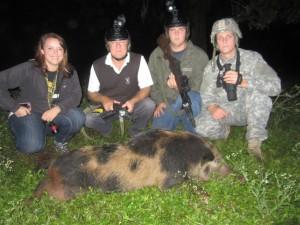 GF. Spotted Boar