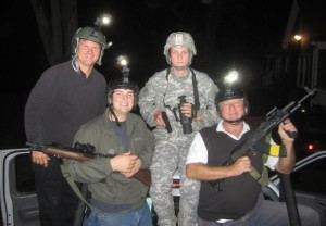 MAB, GF, JD, PD. Night Vision